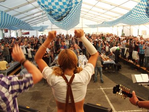 Otoberfest tent